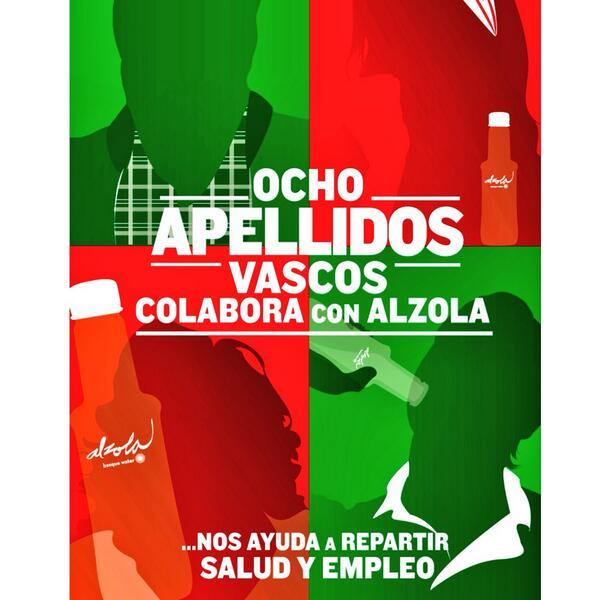 Alzola, agua de la película Ocho apellidos Vascos