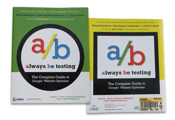 Imagen del libro sobre qué es un test A/B y cómo ejecutarlo